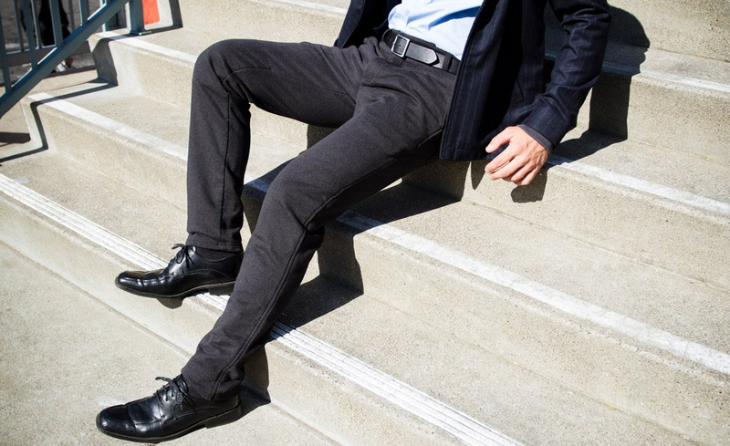 BetaBrand dress sweat pants perfect for plane-sleeping & meeting next day