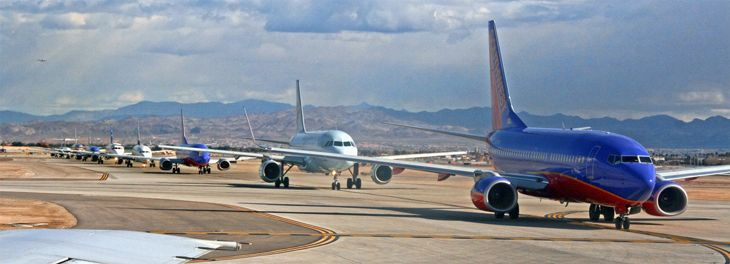 Will extra airline capacity lead to fare wars this summer? (Image: Jim Glab)
