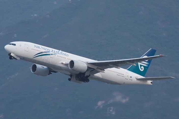 Air New Zealand will use a 777-200 to Houston. (Image: Guillaume Besnard/Flickr)