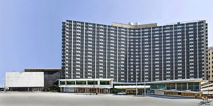 The former Dallas Statler Hilton. (Image: Hilton)