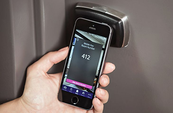 Starwood's keyless room entry app is just the beginning for hotel technology. (Image: Starwood)