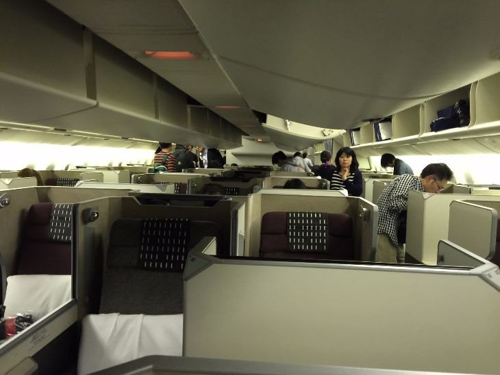 Business class onboard Japan Airlines Sky Suite 777 (Photo: RP)