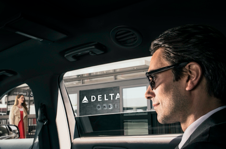 Arriving at Delta's exclusive new T5 lobby (Photo: Delta)