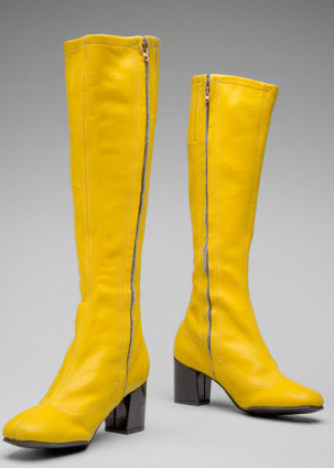 Hughes Airwest go-go boots on display at SFO (Image: SFO)