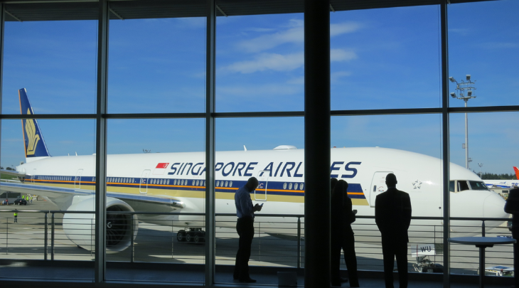 Singapore Airlines' new Boeing 777 can't fly to Singapore from the US (Photo: Chris McGinnis)
