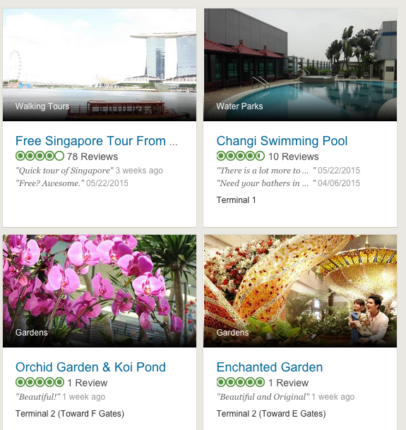 Singapore Changi is the first of 200 dedicated Airports pages coming to TripAdvisor.