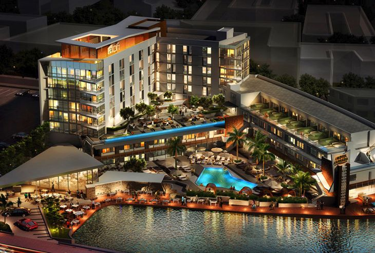 Starwood's new Aloft South Beach in Miami. (Image: Aloft Hotels)
