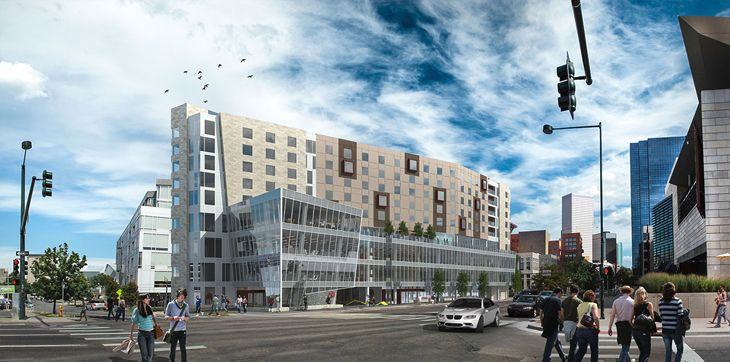 Downtown Denver's new ART Hotel. (Image: ART Hotel)