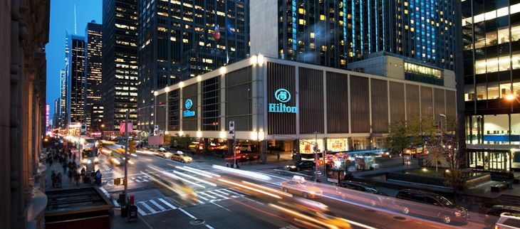 HHonors Diamond members can get free premium Wi-Fi at hotels like the New York Hilton Midtown. (Image: Hilton)