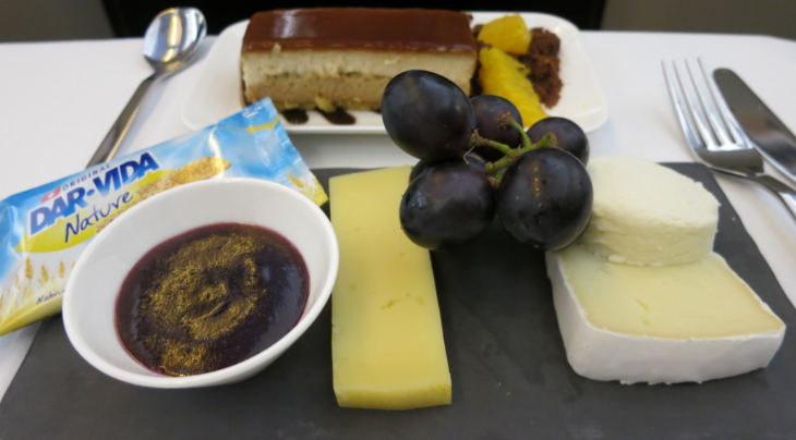 Cheese plate and dessert to finish- that jammy looking item packed a punch w horseradish (Chris McGinnis)