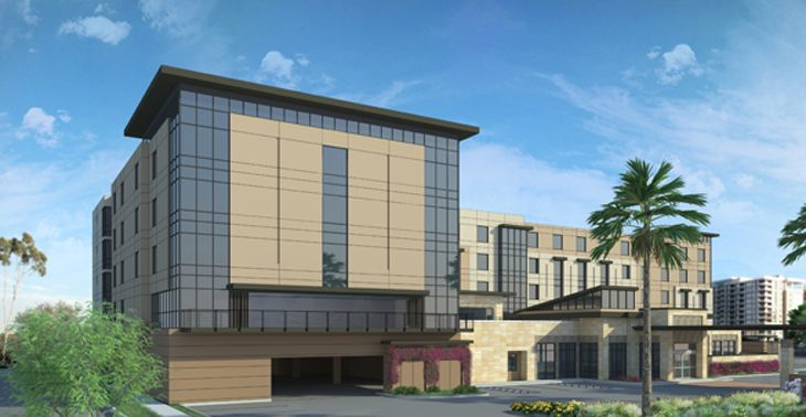 Hilton's new Garden Inn near Orange County Airport. (Image: Hilton)