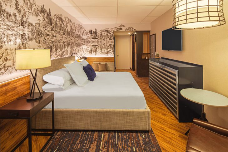 A room at the new RL Baltimore Inner Harbor. (Image: Red Lion)