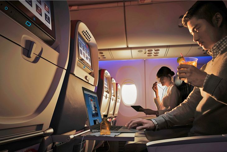 Gogo says new technology will increase Wi-Fi speeds tenfold. (Image: Delta)