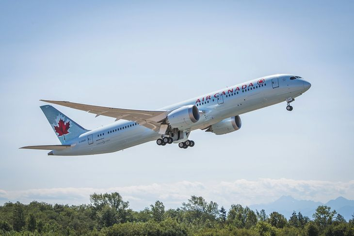 Air Canada will put a 787 onto its new Montreal-Shanghai route. (Image: Air Canada)