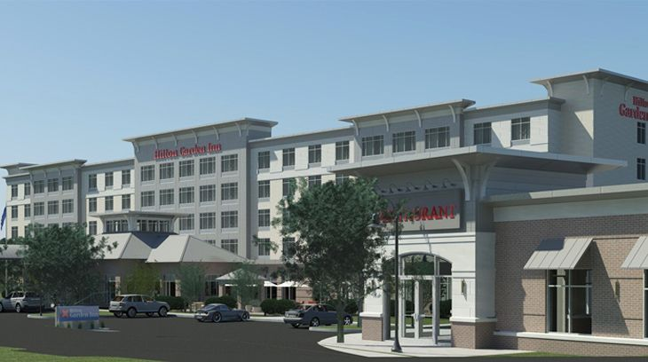 The new Hilton Garden Inn at Boston's Logan Airport. (Image: Hilton)
