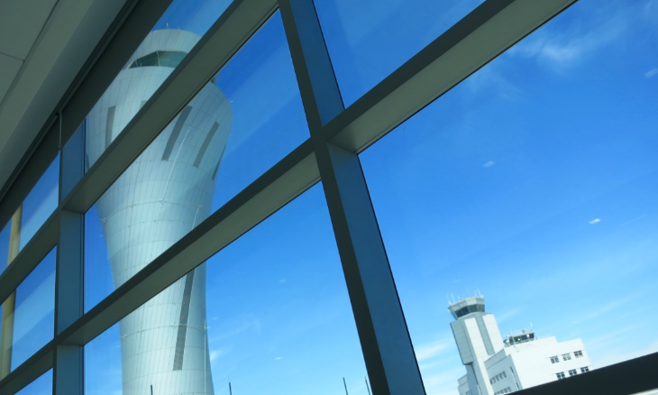 Take a window seat too look at at SFO's iconic new control tower (Photo: Chris McGinnis)
