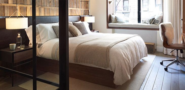 Guest accommodations at the new 1 Hotel Central Park in New York. (Image: 1 Hotels)