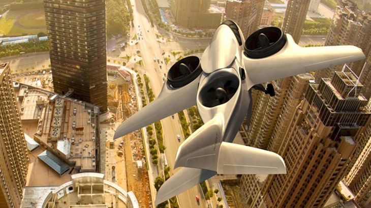 XTI Aircraft hopes to develop a VTOL business jet that can take off and land almost anywhere. (Image: XTI Aircraft)