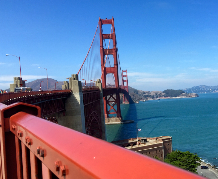 SF is hot these days- in more ways than one (Photo: Chris McGinnis)