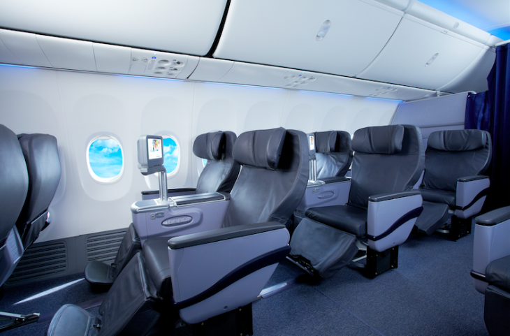Copa Airlines big business class recliners onboard 737-800s (Photo: Copa)