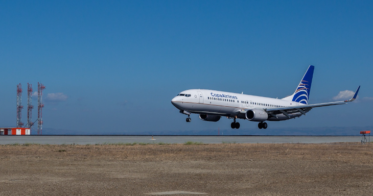 Copa Airlines flies to 12 U.S. destinations, now including SFO (Photo: Peter Biaggi/SFO)