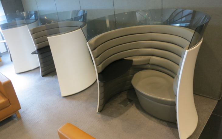 There will be 14 of Cathay's mod-yet-cozy Solus chairs in the new space- up from the current 3 (Photo: Chris McGinnis)
