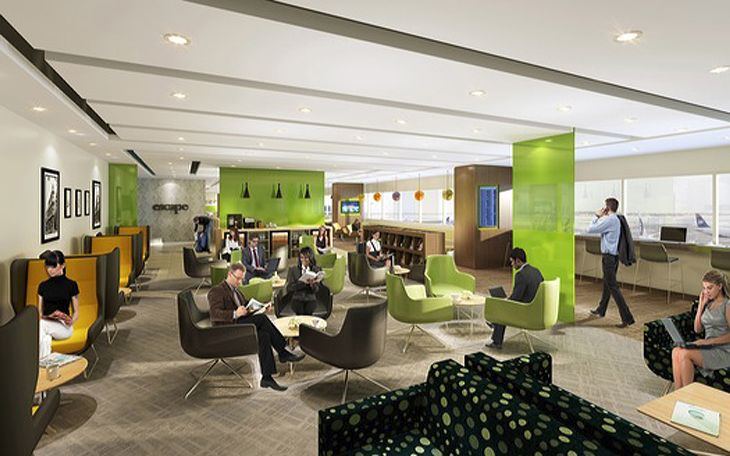 Minneapolis-St. Paul's new Escape Lounge will be open to all passengers who pay a fee. (Image: Metropolitan Airports Commission)