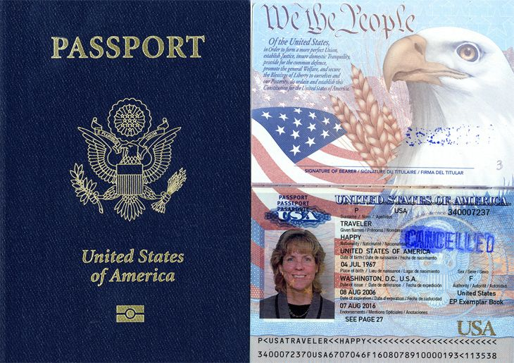 Satte Department: Don't wait too long to renew your expiring passport. (Image: U.S. Citizenship & Immigration Services)