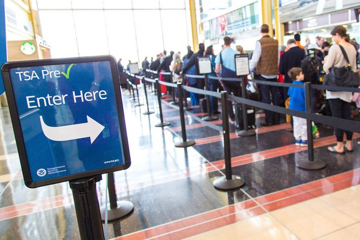 More PreCheck enrollments could help alleviate long lines. (Image: TSA)