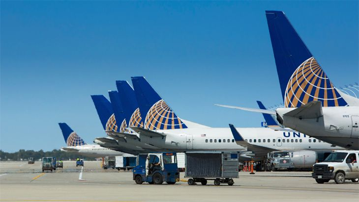 United mainline aircraft at Chicago O'Hare. (Image: United)
