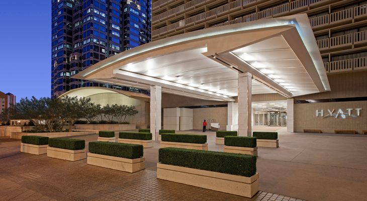 Entrance to the Hyatt Regency Atlanta. (Image: Hyatt)