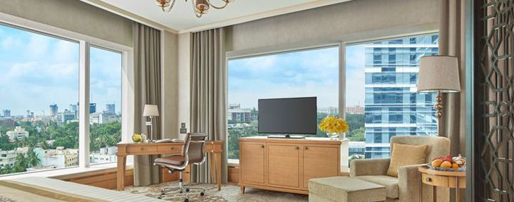 A panorama-view room at the Shangri-La in Bengaluru. (Image: Shangri-La)