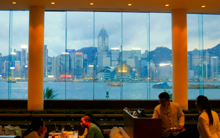 InterContinental Hong Kong view