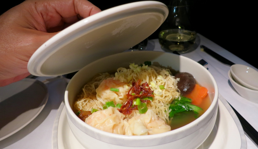 Trip Report Singapore Airlines Business Class Part 2