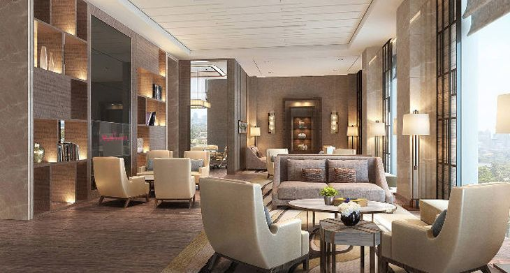 Executive lounge at the Chongqing Marriott. (Image: Marriott)