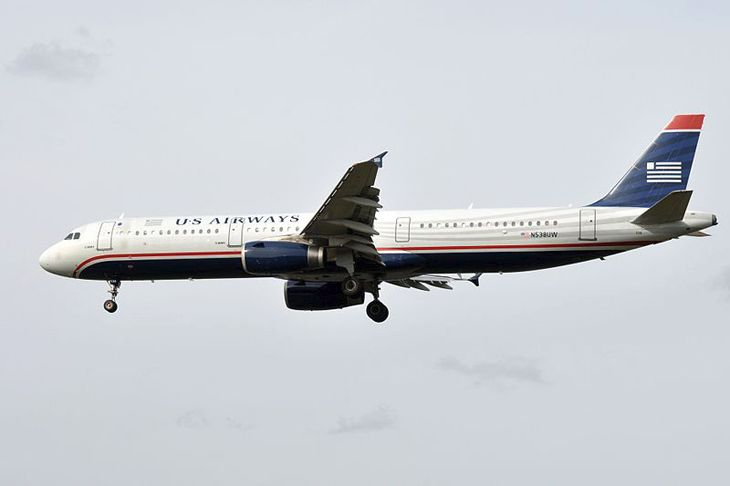 The final US Airways flight will be aboard an Airbus A321like this one. (Image: Eric Salard/Wikimedia Commons)