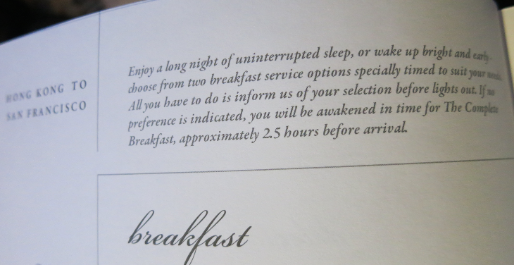 Two options for timing of breakfast (Chris McGinnis)