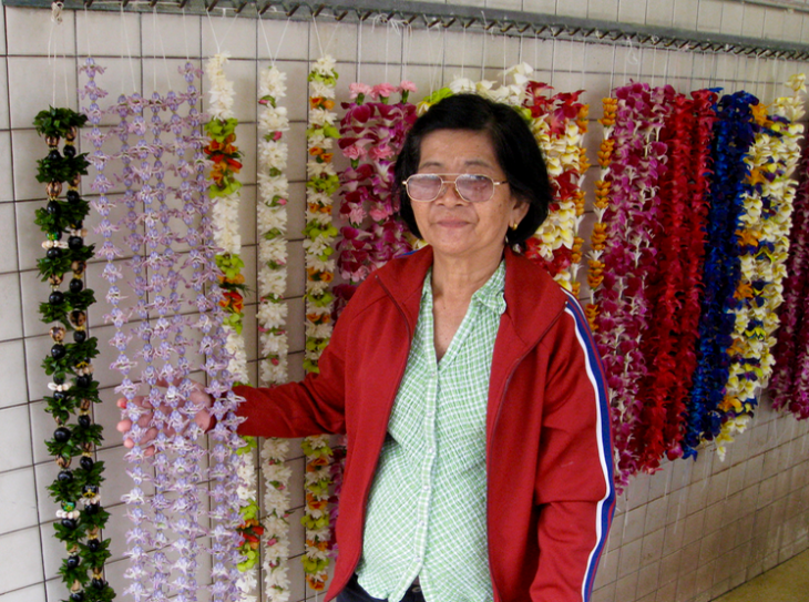 Check out the lei market at HNL airport- best selection! (Photo: Chris McGinnis)