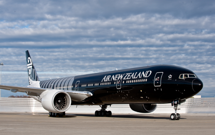 Air New Zealand flies a 777-300 like this on its LAX-AKL run (Photo: Air New Zealand)