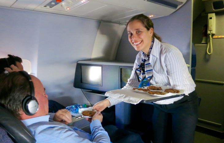 Chris flew United's p.s. business class SFO-EWR this week. Stay tuned for his trip report! (Chris McGinnis)