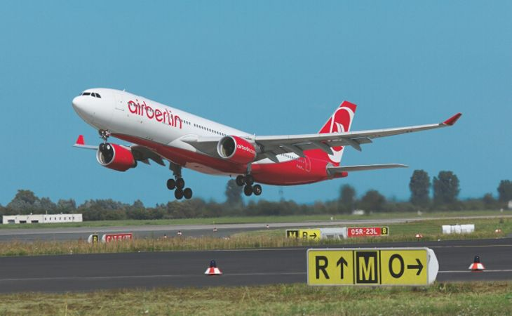 Airberlin will add A330 service to three U.S. cities in 2016. (Image: Airberlin)