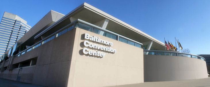 Have you had trouble using a personal Wi-Fi hot spot at conventions in Baltimore? (Image: Baltimore Convention Center)