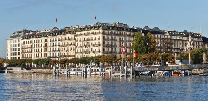 Hotel de la Paix in Geneva is becoming a Ritz-Carlton. (Image: Ritz-Carlton)