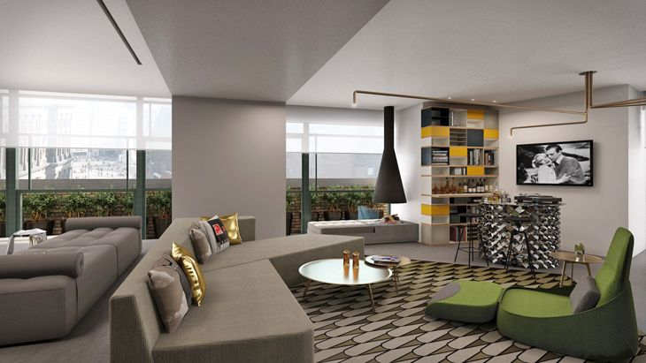 A lavish Extreme WOE suite at the new W Amsterdam. (Image: Starwood)