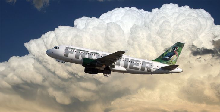 Frontier is offering double miles through December. (Image: Jim Glab)