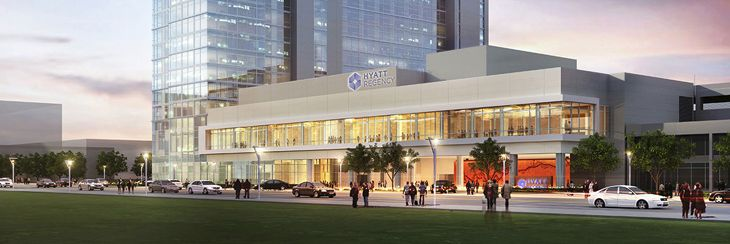The new Hyatt Regency at Houston's Galleria. (Image: Hyatt)