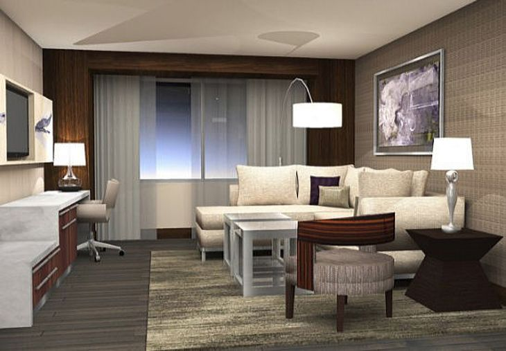 A King Suite at the Mall of America's new JW Marriott. (Image: Marriott)