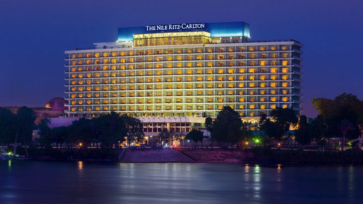The Nile Ritz-Carlton in Cairo. (Image; Ritz-Carlton)