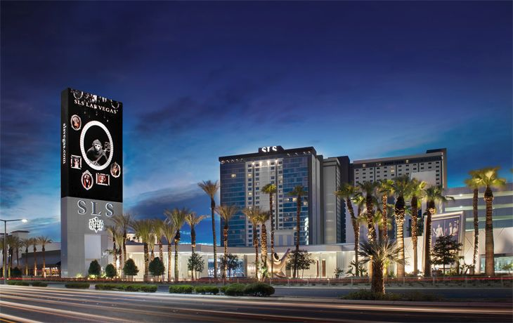 The huge SLS Las Vegas is joining Starwood's Preferred Guest program. (Image: Starwood)