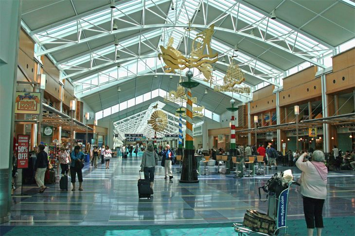 Oregon's Portland International scored first place as the nation's favorite large airport. (Image: Jim Glab)